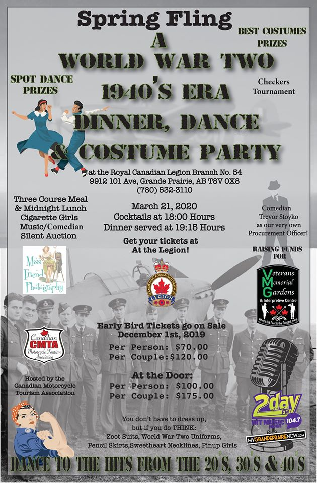 Spring Fling Dance & Costume Party 2020