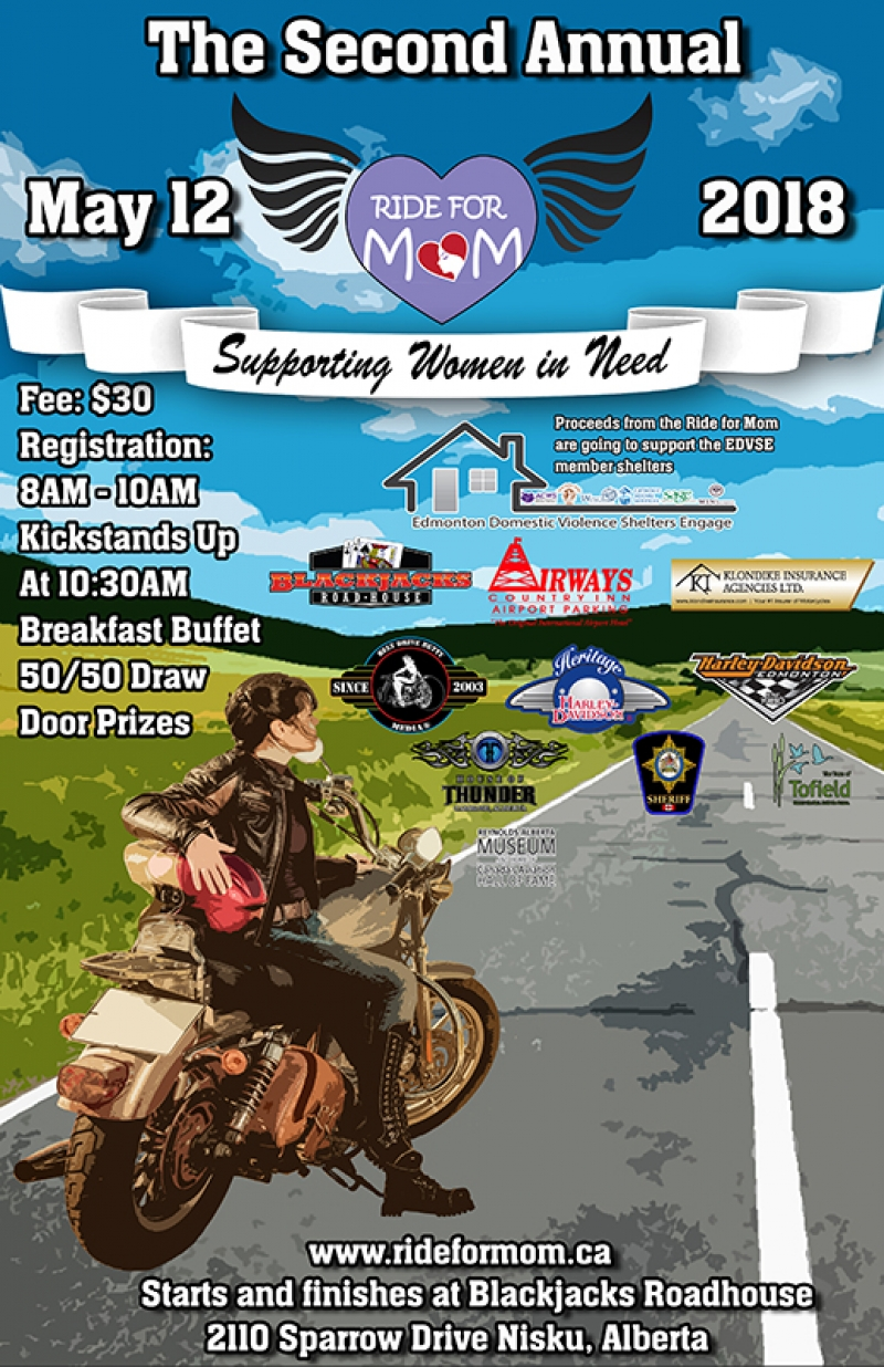 2nd Annual Airdrie Ride for Mom